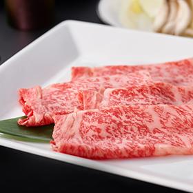 Premium Japanese black beef