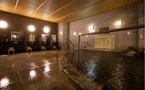 Large communal bath