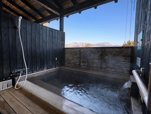 お部屋専用の露天風呂付き